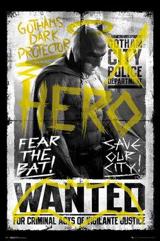 Batman v Superman: Dawn of Justice - Batman Wanted Poster