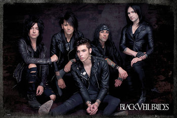 Black Veil Brides - Group Sit Poster