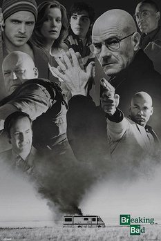 BREAKING BAD - up in smoke Poster