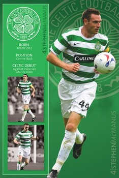 Celtic - mcmanus Poster
