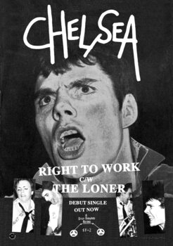 Poster Chelsea - Right to Work