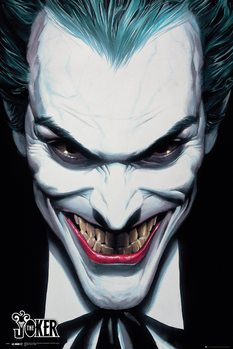 DC Comics - Joker Ross Poster