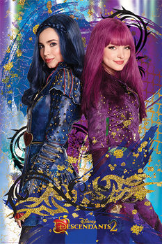 Descendants - Evie & Mal Poster