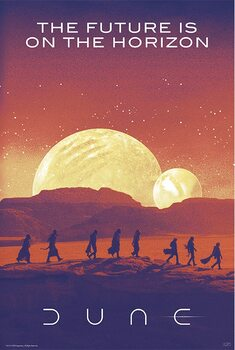 Poster Dune - Future is on the horizon