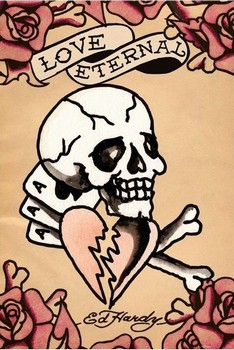 Ed Hardy - love eternal Poster