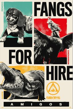 Poster Far Cry 6 - Fangs for Hire