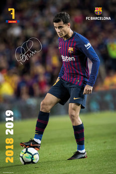 FC Barcelona 2018/2019 - Coutinho Poster