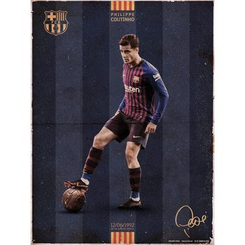 FC Barcelona - Coutinho Vintage Reproducere