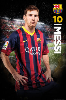 FC Barcelona - Messi 14/15 Poster