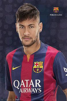 FC Barcelona - Neymar Jr. Poster