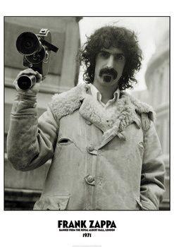 Poster Frank Zappa - Banned Albert Hall 1971