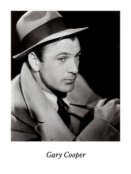 GARY COOPER Reproducere