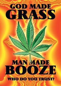 God made grass Poster