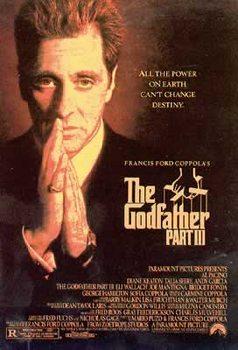 Godfather III - Al Pacino Praying Poster
