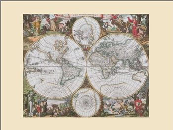 Harta istorica a lumii Reproducere