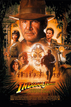 INDIANA JONES - kingdom of the Poster