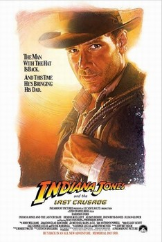 INDIANA JONES - the last crusade one sheet Poster