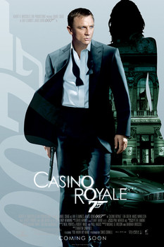 JAMES BOND 007 - casino royal empire Poster