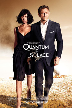 JAMES BOND 007 - quantum of solace one sheet Poster