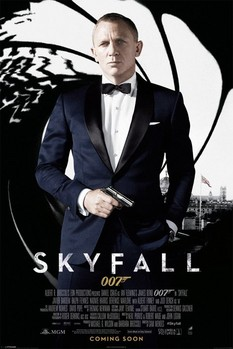 JAMES BOND 007 - skyfall one sheet black Poster