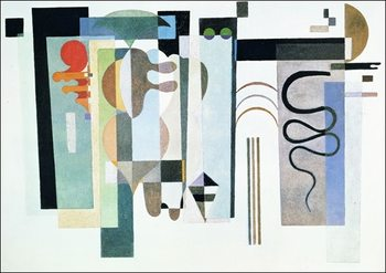 Kandinsky - Due Punti Verdi Reproducere