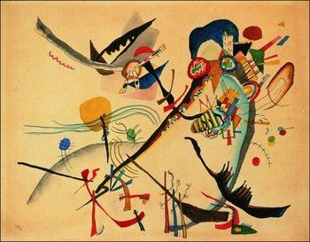 Kandinsky - Study For Blue Segment Reproducere