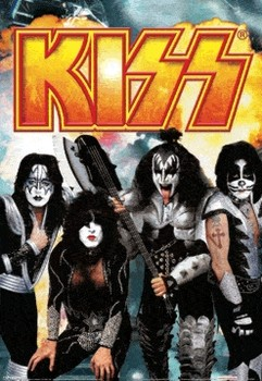 KISS Poster 3D