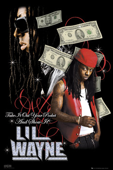 Lil Wayne - dollars Poster