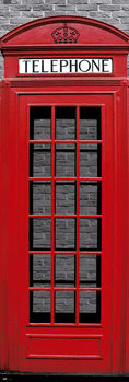 Poster London - Red Telephone Box