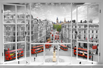 London - window Poster