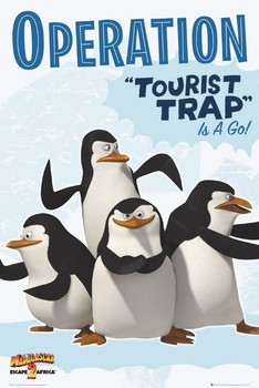 Madagascar 2 - penguins Poster