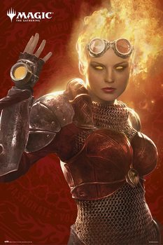 Magic The Gathering - Chandra Poster