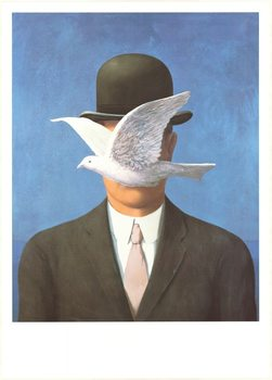 Man in a Bowler Hat, 1964 Reproducere