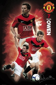 Manchester United - owen 09/10 Poster