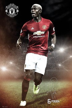 Manchester United - Pogba 16/17 Poster