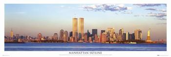 Manhattan - skyline Poster