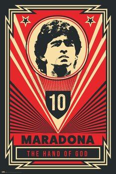 Poster Maradona - The Hand Of God