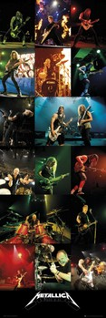 Metallica - live 2012 Poster