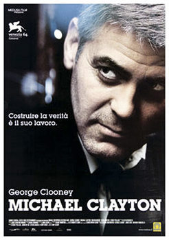 MICHAEL CLAYTON - George Clooney Poster