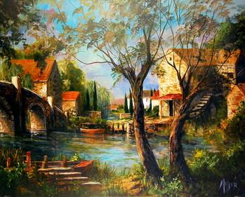 Mill Bridge Reproducere