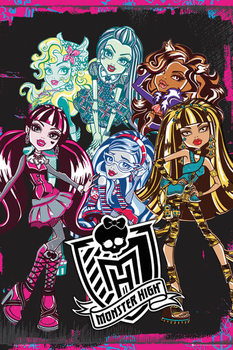 MONSTER HIGH - monsters Poster