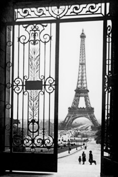 Paris - gates Poster