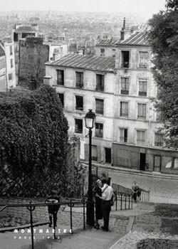 Paris - montmartre Poster