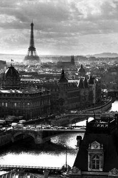 Paris - river Poster