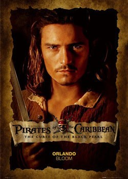 PIRATES OF CARIBBEAN - bloom close up Poster