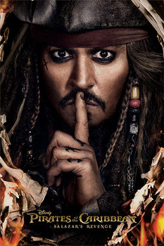 Pirates of the Caribbean - Can You Keep A Secret Poster