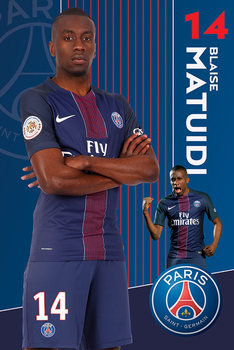 PSG Matuidi 16 -17 Poster