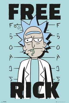 Rick And Morty - Free Rick Poster