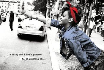 Rihanna – I'm crazy Poster