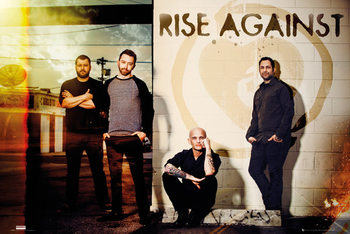 Rise Against - Line Up Poster